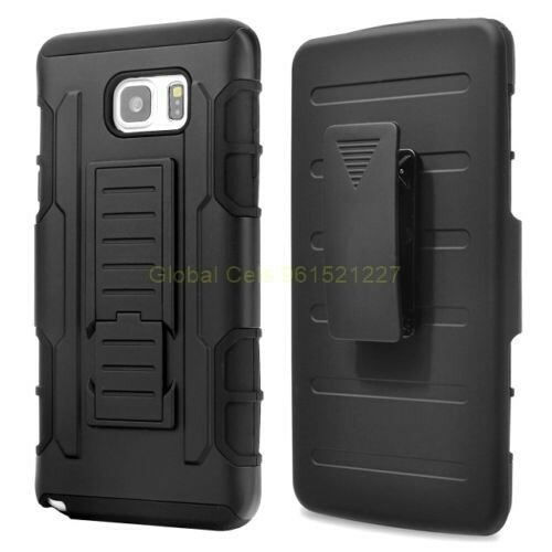 Protector Holster Samsung Galaxy Note 5 Gorila con gancho para la correa y soporte