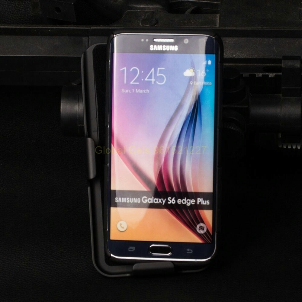 Case Galaxy S6 Edge Plus / S6 Edge + holster Gorila con gancho giratorio