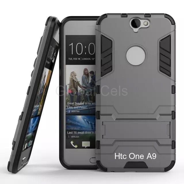 Case Funda HTC ONE A9 con parante de inclinación carcasa de 2 partes