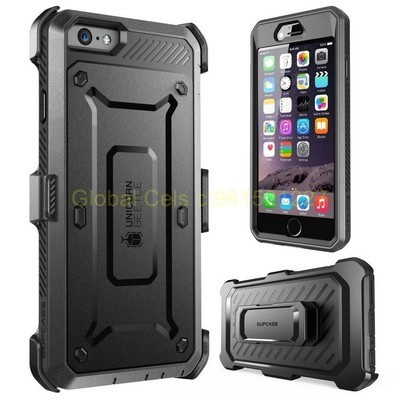 SUPCASE IPHONE 6 PLUS con Mica Integrada super sensible y gancho para llevar en correa