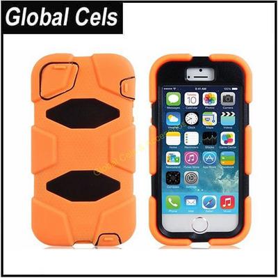 Estuche Clip Robot Iphone 5 Naranja llévelo seguro en su cinturón Clip Soporte