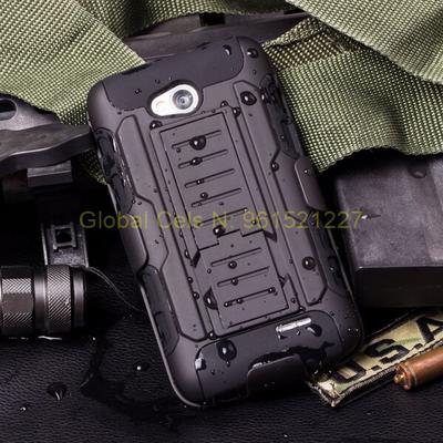 Case Holster Gorila LG L90 con gancho para la correa y soporte graduable para ver vídeos