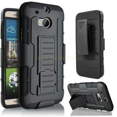 Estuche HTC ONE M8 holster Gorila con gancho y parante de inclinación