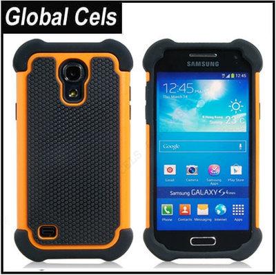 Estuche Galaxy S4 Samsung Mini I9190 Naranja Negro Robot Superficie Anti deslizante Protección 100%