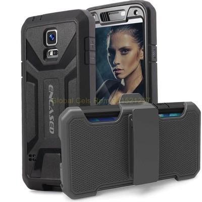 Protector GALAXY S5 Samsung ENCASED@ Gancho para correa / Mica Incorporada