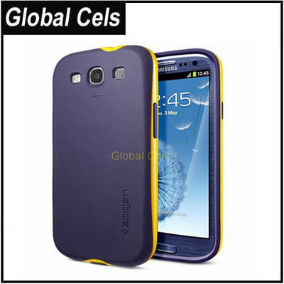 Carcasa Case Estuche Funda Samsung Galaxy S3 de Marca SGP en Materiales TPU + PC especiales