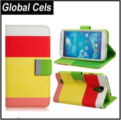 Estuche Samsung Galaxy S4 Flip Cover Muti Color de 4 bandas Agendera