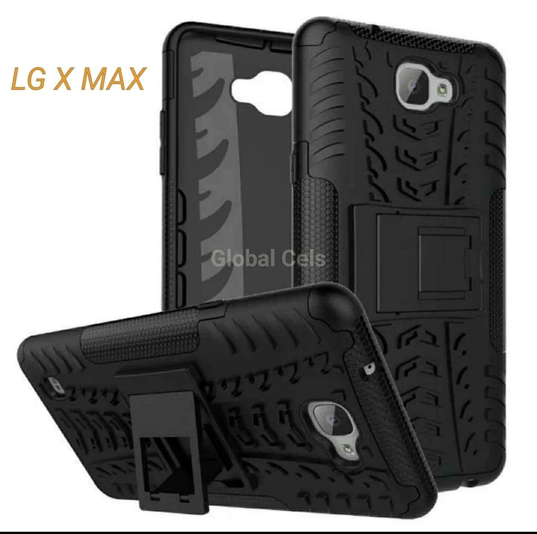 Case LG X MAX con Parante de inclinación Antigolpes