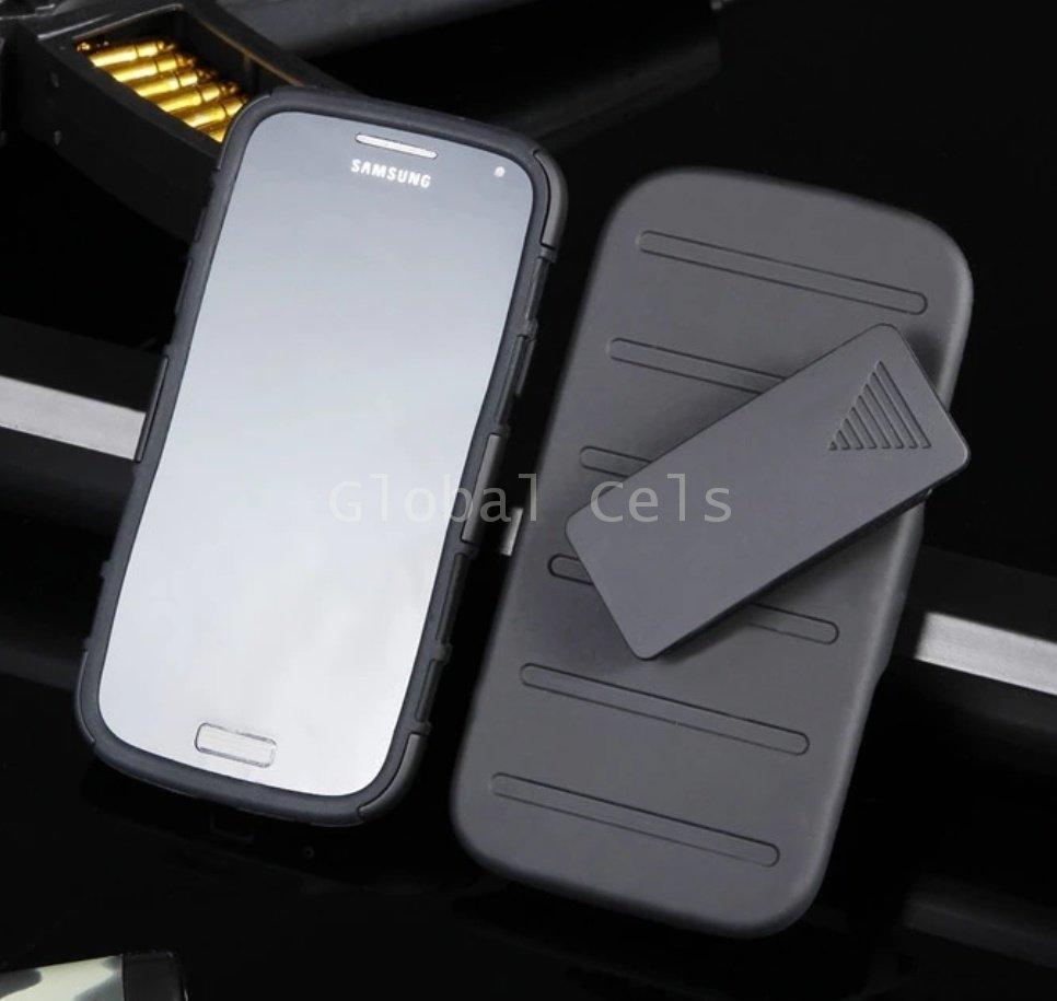 Case Galaxy S4 c/ Gancho c/ Parante Armor Impact