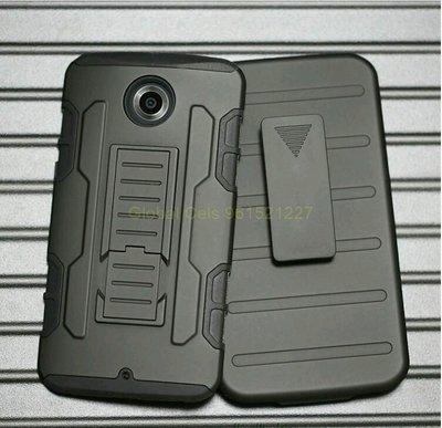 Case Motorola Google Nexus 6 con gancho y apoyo inclinable holster Gorila