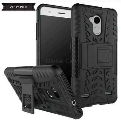 Case Zte V6 Plus Antigolpes con Soporte Inclinable