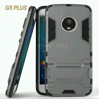 Case Moto G5 Plus con Soporte Inclinable Antigolpes de 2 partes
