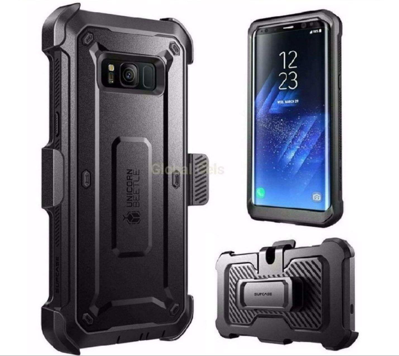 Case Samsung Galaxy S8 Plus S8 Extremo Protector 360 c/ Gancho