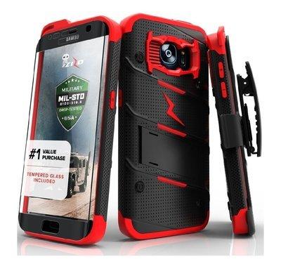 Case Galaxy S7 Normal Zizo Protector con Vidrio templado