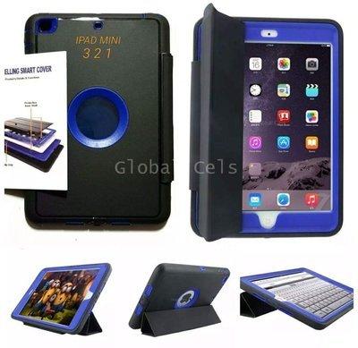 Case Ipad Mini 3 2 1 de 4 Partes Extremo c/ Tapa c/ Parante c/ Protección 360 c/ Mica