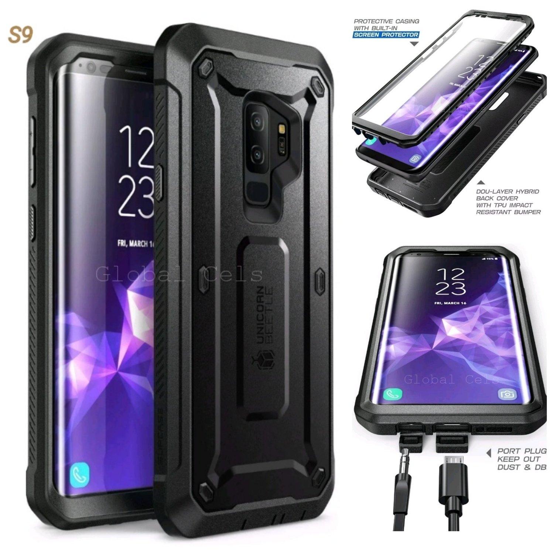 Case Galaxy S9 Plus S9+ Carcasa USA Alta Protección c/ Clip Correa