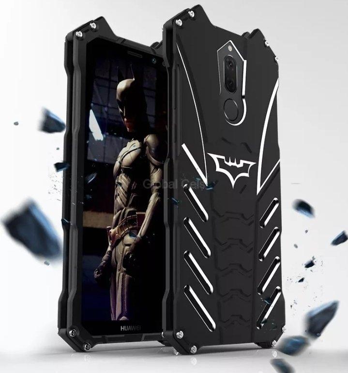 Case Huawei Mate 10 Lite Batman Protector Metálico con pernos