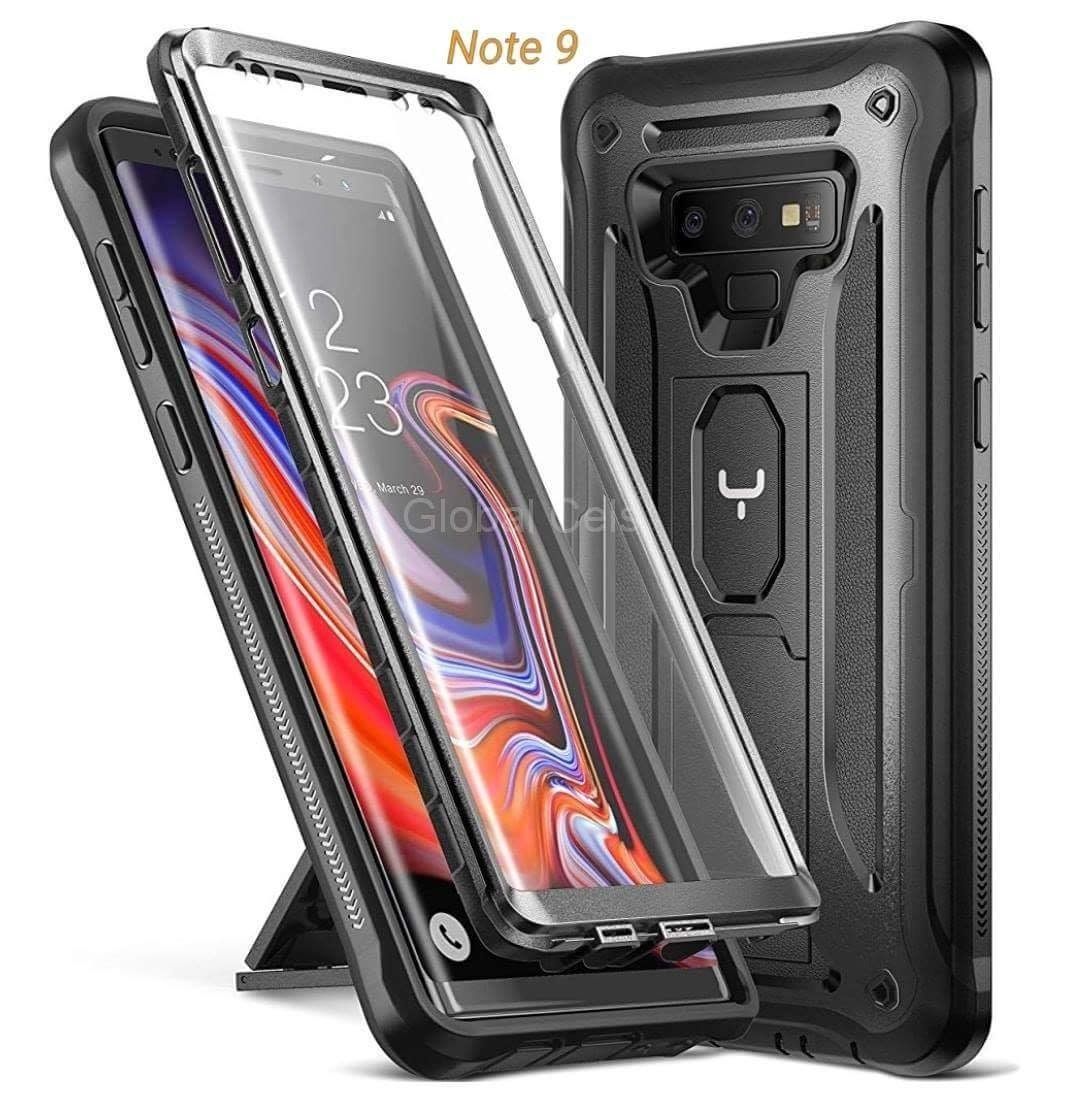 Case Galaxy Note 9 Armadura c/ Mica Integrada c/ Parador Vertical Horizontal
