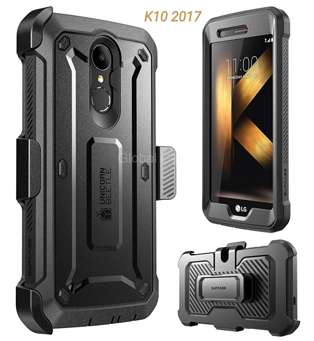 Case Extremo LG K10 2017 Armadura Supcase Pro c/ Gancho