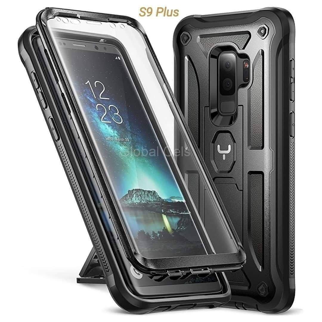 Case Galaxy S9 Plus Protector 360 c/ Parador Vertical y Horizontal c/ Mica Integrada