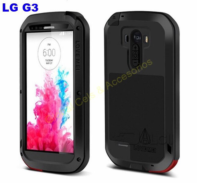 LOVE MEI Original LG G3 D855 Negro, da Protección Total a tu equipo!!