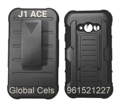 Case Samsung Galaxy J1 ACE Funda con Gancho para correa Holster Armor
