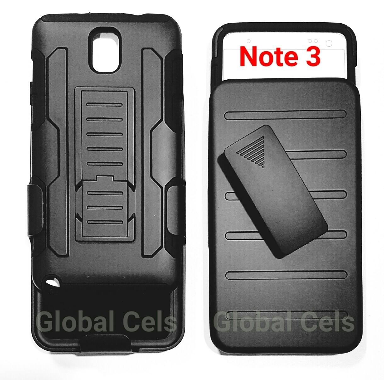 Case Galaxy Note 3 Samsung Holster Armor con gancho para correa