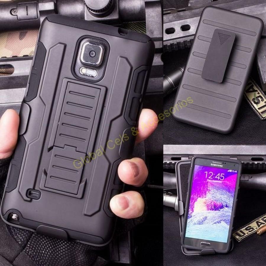 Estuche Case Galaxy Note 3 Armor Impact Clip Correa