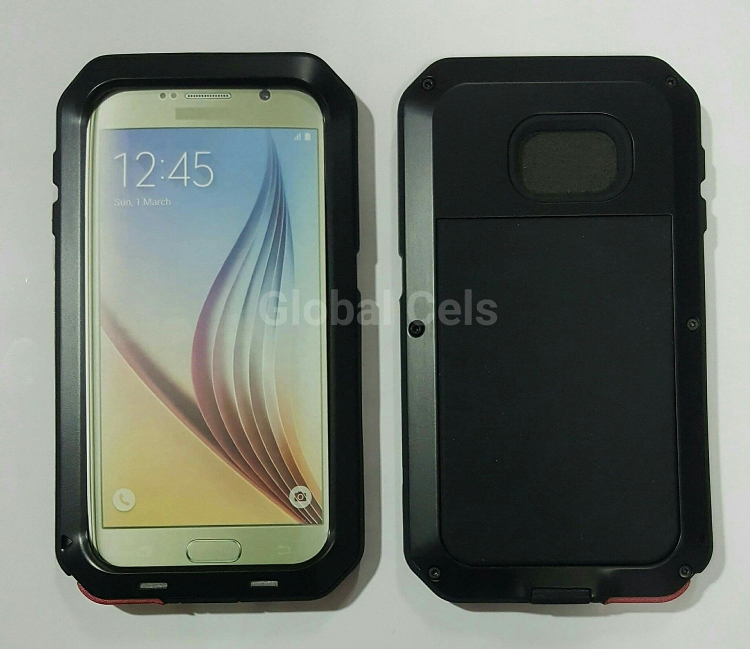 Case Metal Galaxy S6 Edge PowerFull protege de caídas e impactos