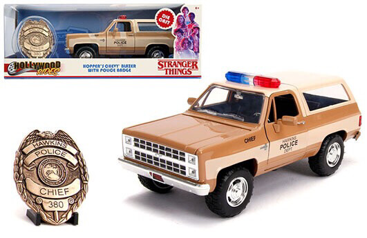 Hopper's Chevy Blazer Stranger Things