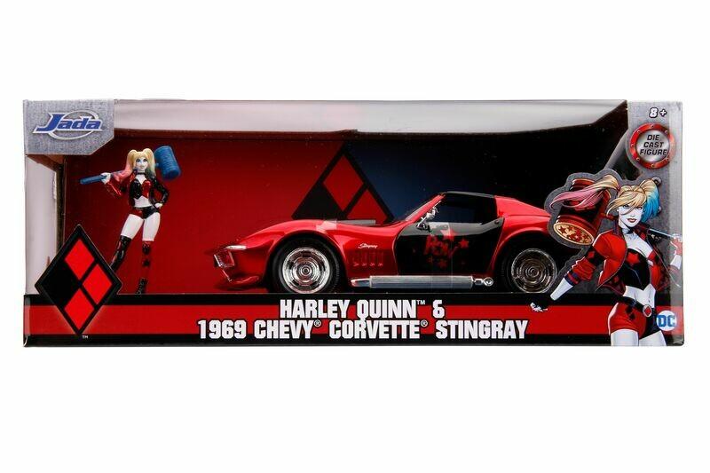 1969 Covertte Stingray Harley Quinn