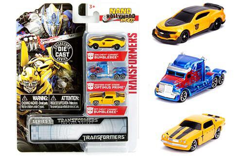 Caja Transformers Set Nanos Jada