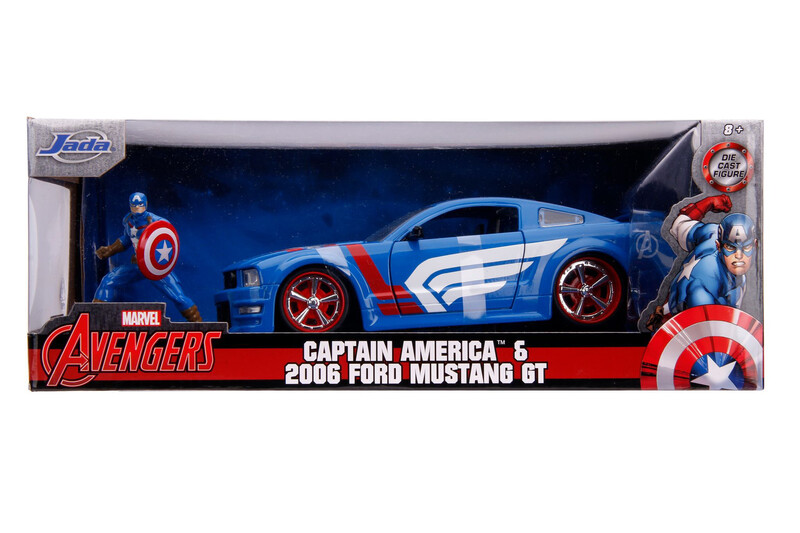 2006 Ford Mustang GT Capitan America
