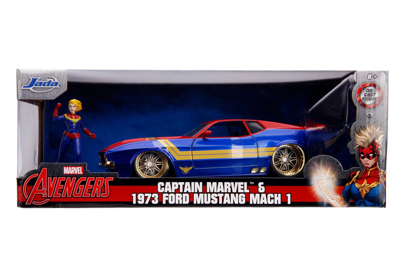 1973 Ford Mustang Mach 1 Capitan Marvel