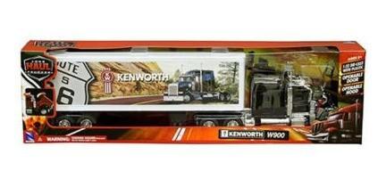 Kenworth W900 Caja Seca