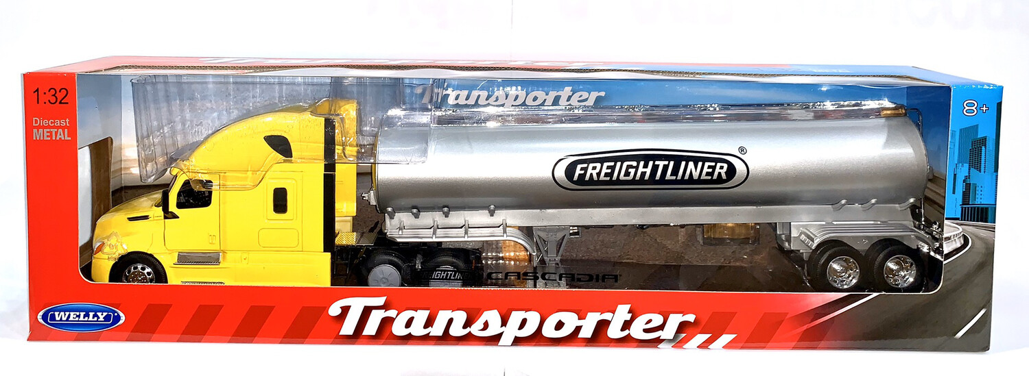 Freightliner Cascadia Pipa