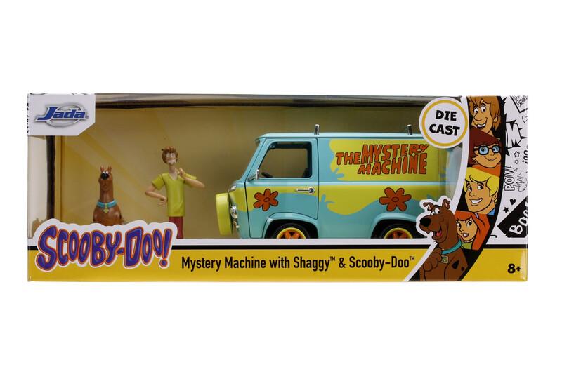 Mystery Machine con Scooby doo y Shaggy