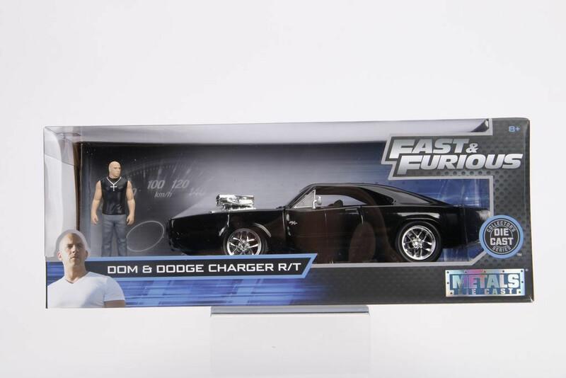 Dodge Charger R/T Rapidos y Furiosos con Figura