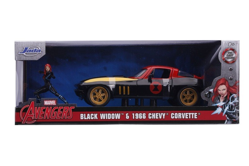 1966 Chevy Corvette black widow