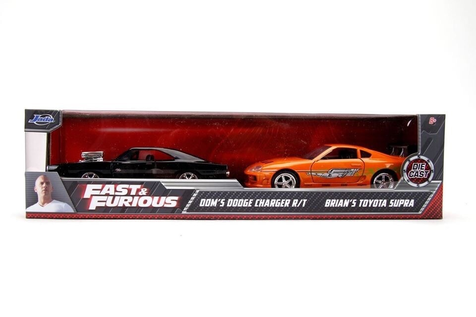 Dom's Charger / Brian's Supra