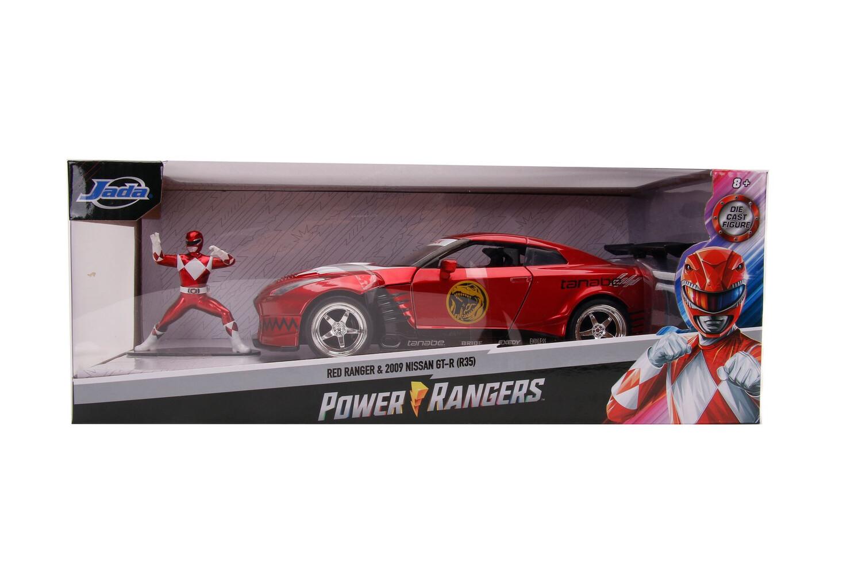 2009 Nissan GT-R Red Ranger