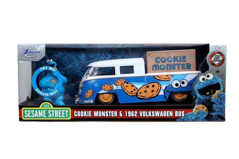 1963 VW bus Cookie Monster