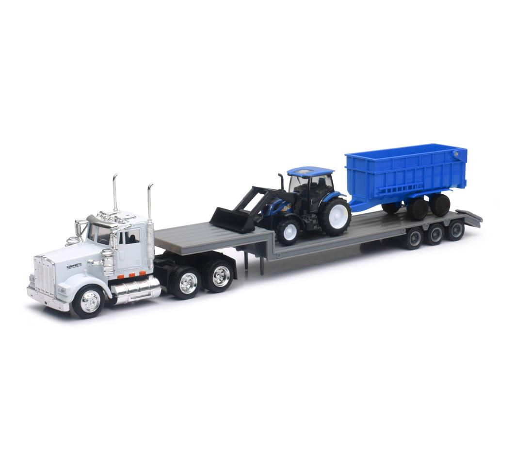 Kenworth Lowboy con tractor