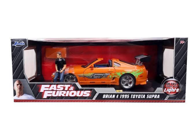 Brian's Toyota Supra con Luz