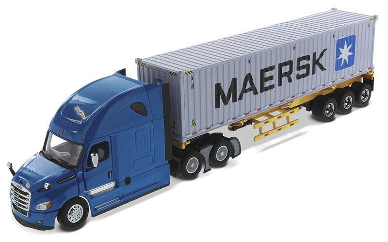 Freightliner Cascadia Contenedor