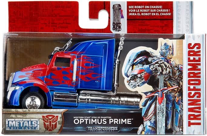 Optimus Prime Western Star