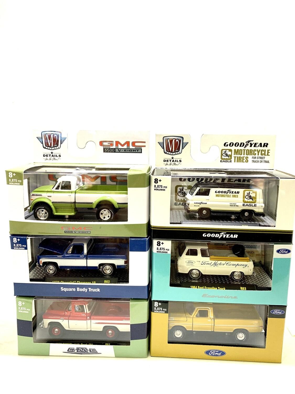 Set Pickup TRUCKS 63