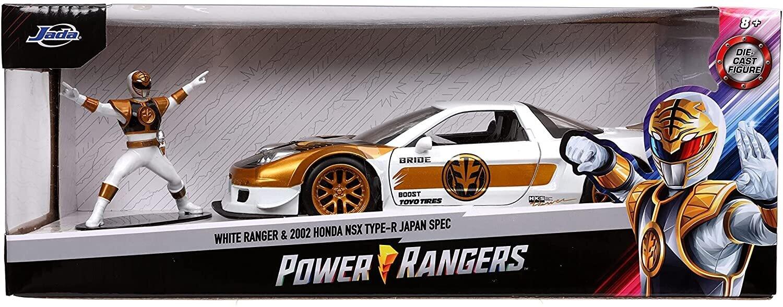 2002 Honda NSX White Ranger
