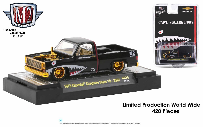 1973 Chevrolet Cheyenne Super 10 Negra Chase