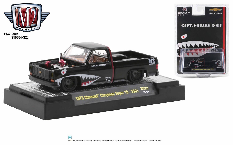 1973 Chevrolet Cheyenne Super 10 Negra